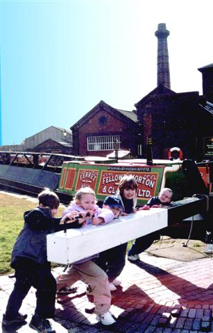 Family day out at Ellesmere Port.